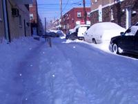 snow street tracks